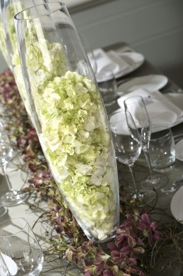 modern wedding centrepieces