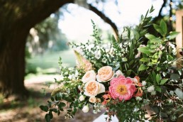 wedding ceremony arrangement